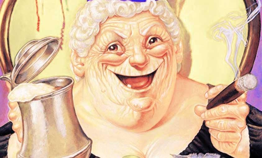Discworld Books: Nanny Ogg [ESFP]